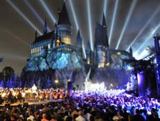 Muggles get a glimpse into the magical world of Hogwarts at the Wizarding World of Harry Potter Theme Park at Universal Orlando.