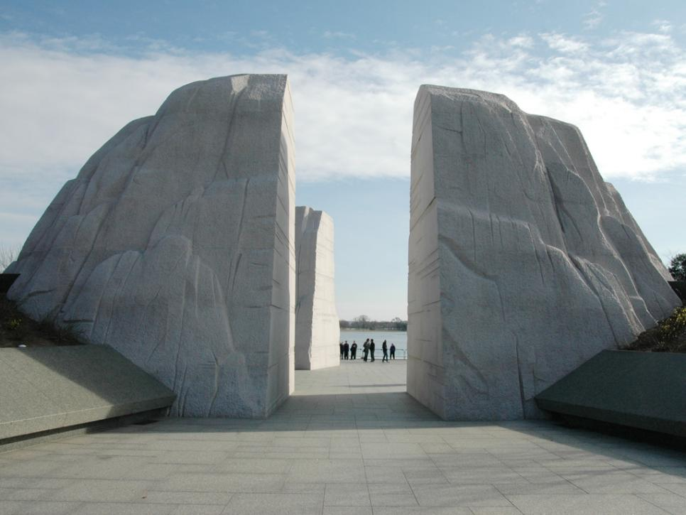 The Martin Luther King Jr Memorial Travel Channel