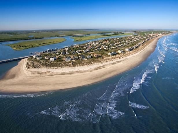 Ariel Shot Of Isle Palms