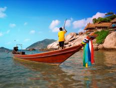 Thailand's hottest spot for the young set is Ko Phangan, a small island near the larger Koh Samui.