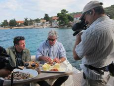 Tony Bourdain eats lunch in Croatia