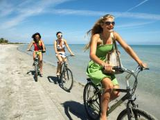 Women Biking