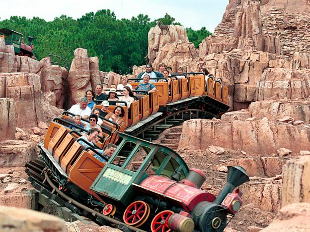 Disney's Big Thunder Mountain Railroad