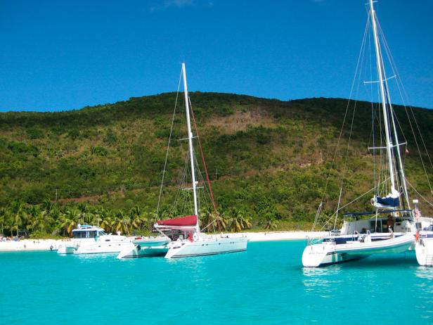 Jost Van Dyke, British Virgin Islands for New Year's