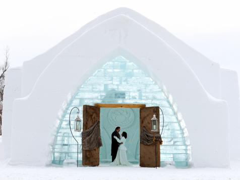 Destination Wedding: Hotel de Glace