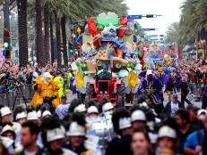 Rex Parade for Mardi Gras