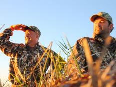 Andrew Zimmern goes duck hunting in Houston.