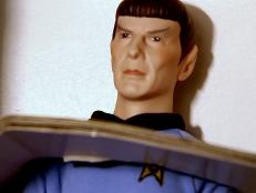Traci Lombardo, the newest auction specialist, gets lucky with this Star Trek figurine. How much do you think it sold for?