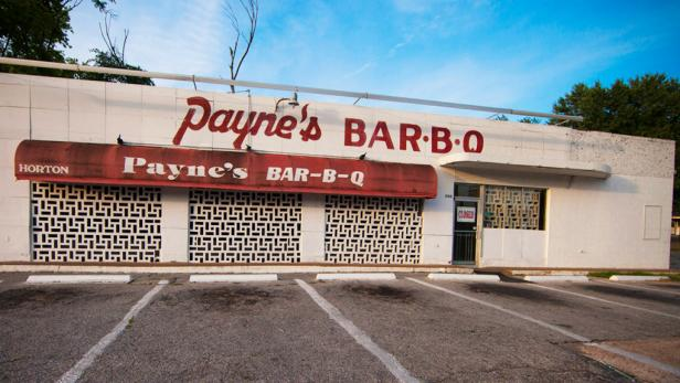 Memphis barbecue Payne's