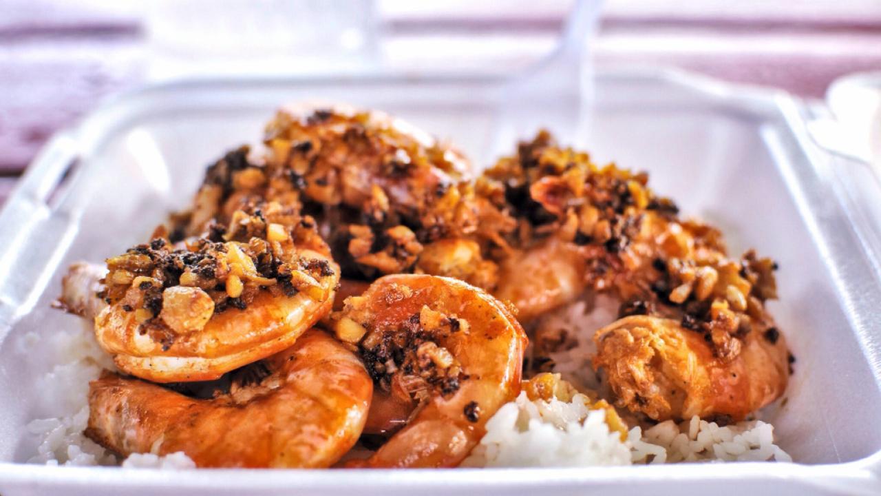 Meal From Romy S Shrimp Truck