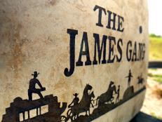 The James Gang stone