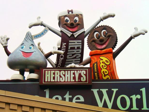 hersheys chocolate world, factory, hershey, pennsylvania