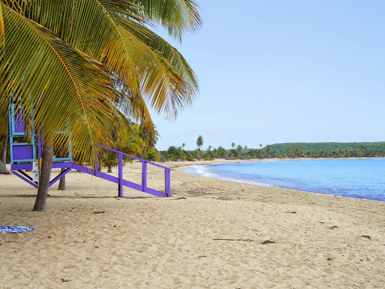 Sun Bay Beach Vieques Puerto Rico