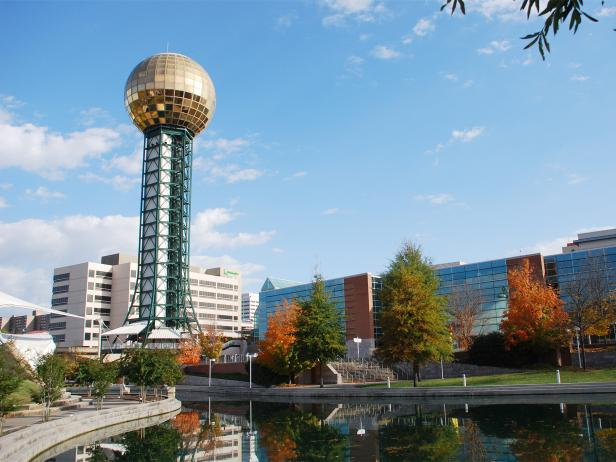 worlds fair, sunsphere, knoxville, tennessee