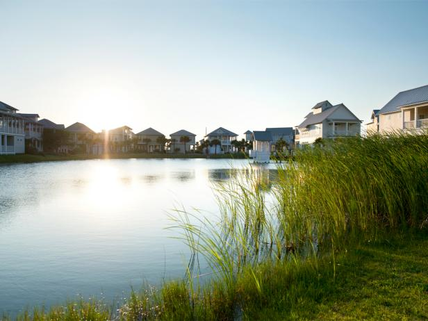 coastal village, port aransas, texas