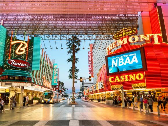 freemont street, downton, old las vegas, nevada