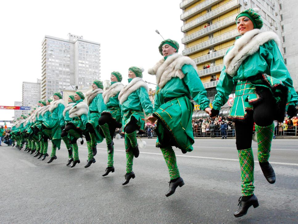 St Patrick S Day Celebrations Around The World Arts And Culture