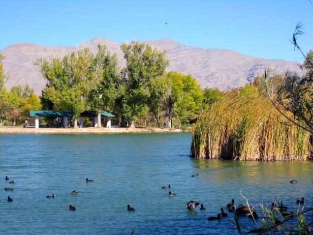 floyd lamb park at tule springs in las vegas nevada sunshine