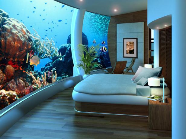 Poseidon Undersea Resort, suite, Fiji