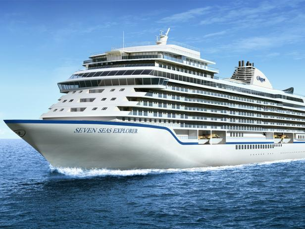 Regent, Seven Seas Explorer, cruise ship