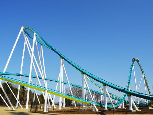 Carowinds, Fury, roller coaster, Charlotte, North Carolina
