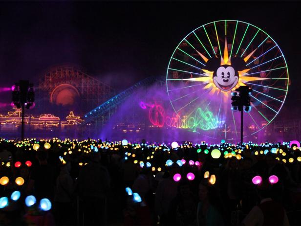 Disneyland, World of Color, Anaheim, California