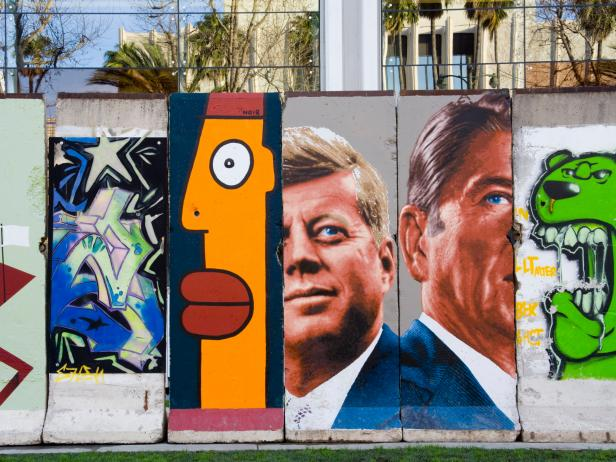 Wende Museum, Berlin Wall, Los Angeles, California