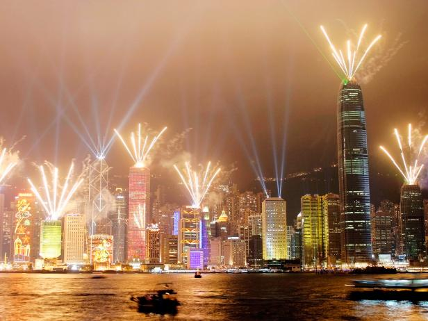 Symphony of Lights, Hong Kong