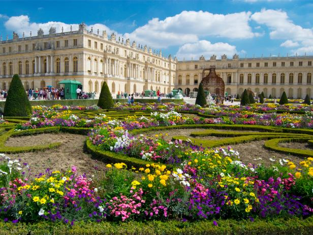 Palace of Versailles, gardens, Paris, France