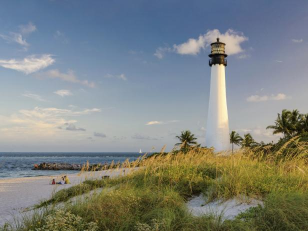 Bill Baggs Lighthouse, Key Biscayne, Cape, Florida