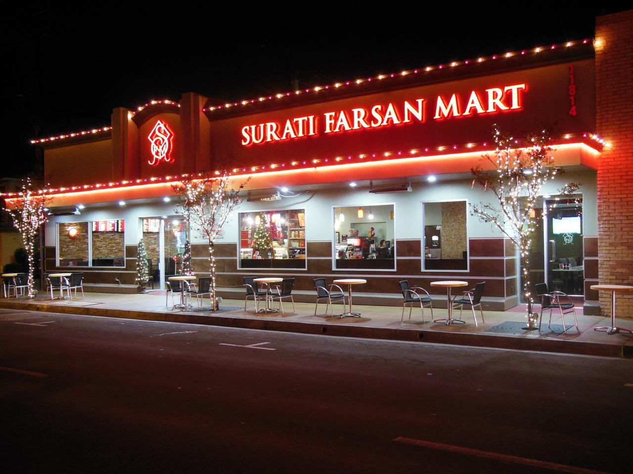 Surati Farsan Mart Exterior Restaurant Los Angeles California