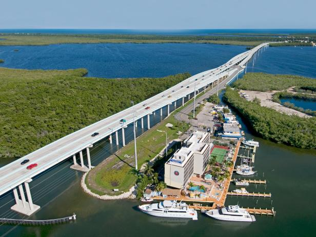 Keys All American Bridge, Overseas Highway, Florida