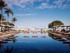 Four Seasons Hulalai, pool, Hawaii