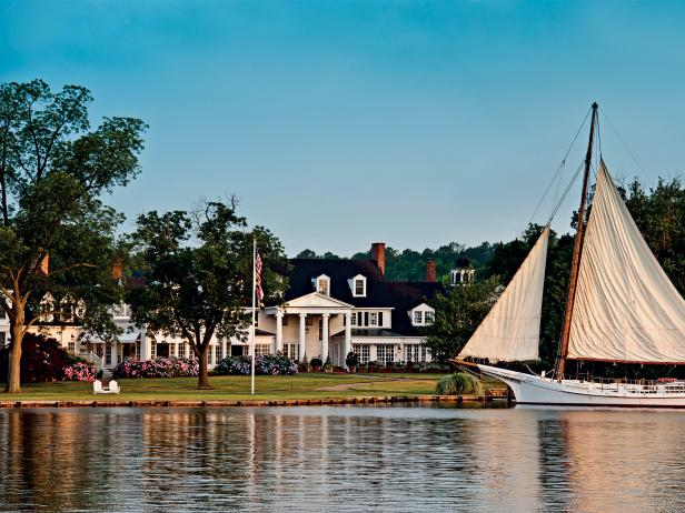 Inn At Perry Cabin, sailboat, St. Michaels, Maryland