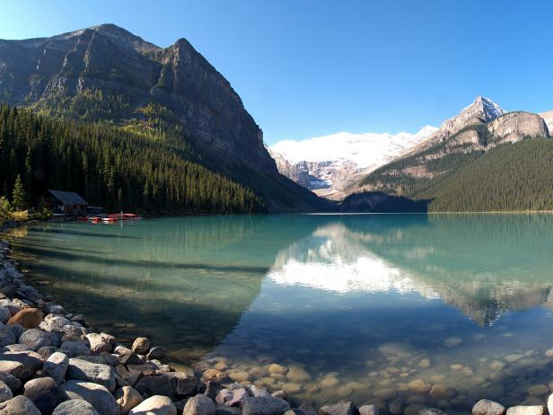Lake Louise, canada, water, mountain