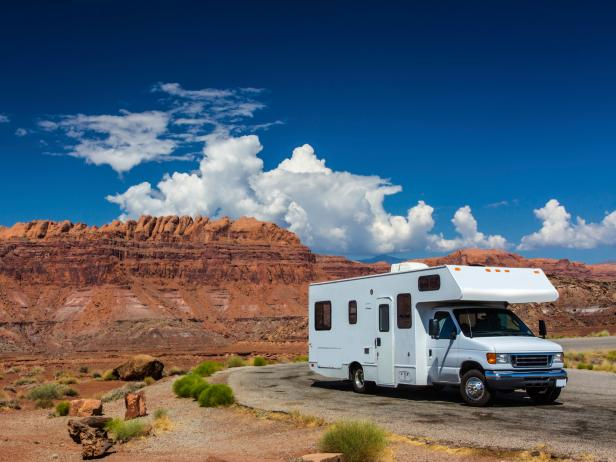 Image result for RV on a road trip