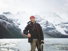 We reveal the truth behind his passion for adventure, including his 20-day expedition through the Rockies in Alberta, Canada.
