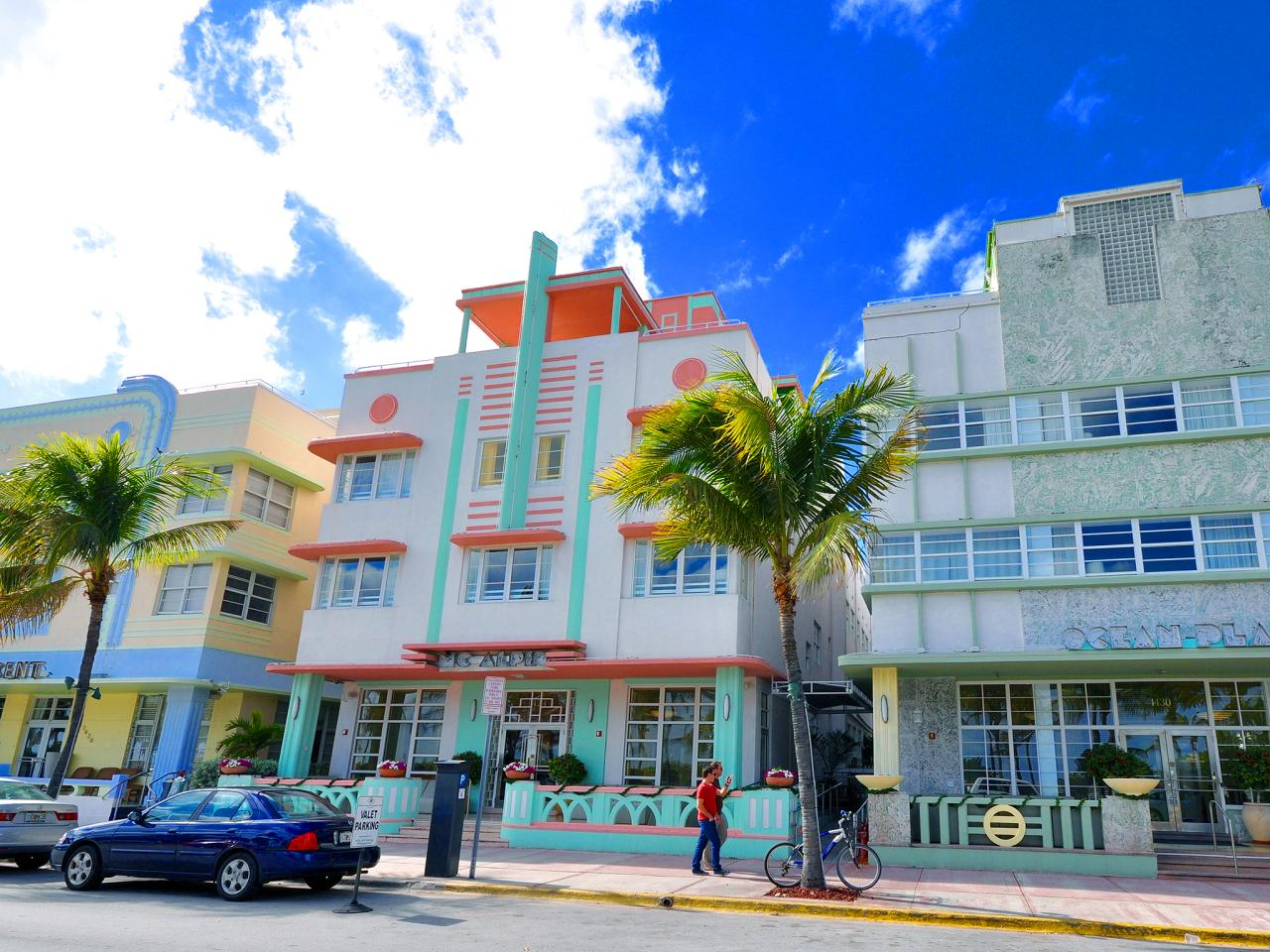 Thanks In Large Part To The 80s Television Clic Miami Vice If One Visual Were Define South Beach It S Pastel Colored Art Deco Architecture