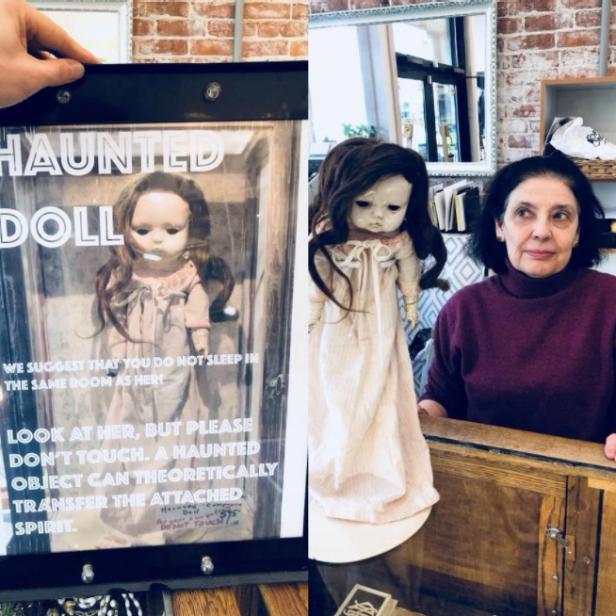 莉莉闹鬼的娃娃
