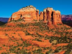 Sedona's Towering Red Rocks