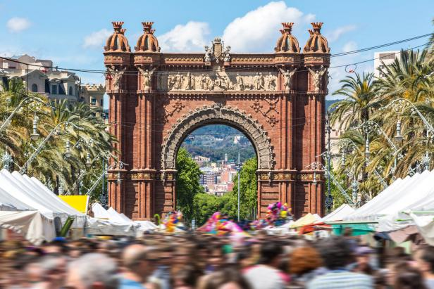 Arc de Triomph in Barcelona