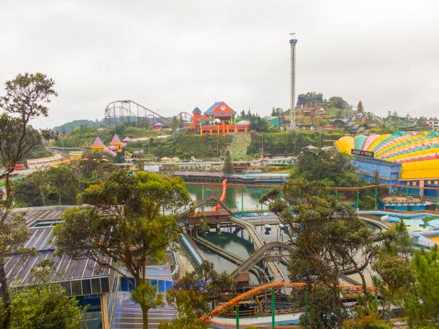 Genting Highlands Amusement Park in Malaysia
