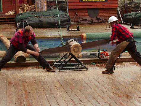 Lumberjack Obstacle Course