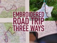 Embroidered Road Trip